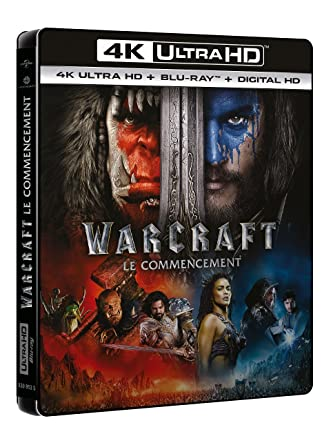 Amazon Com Warcraft Le Commencement 4k Ultra Hd Blu Ray