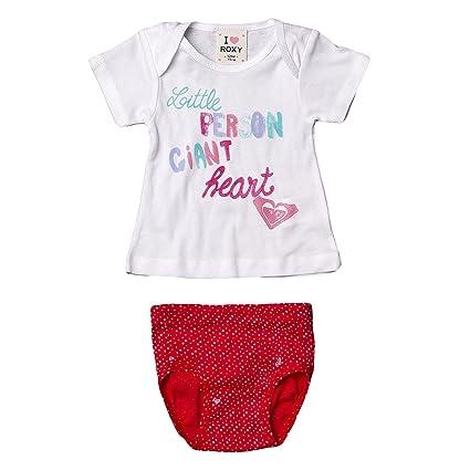 nouveaux styles d71ff a4573 Roxy t-Shirt sous-vêtement pour bébé de Smiley Multicolore ...