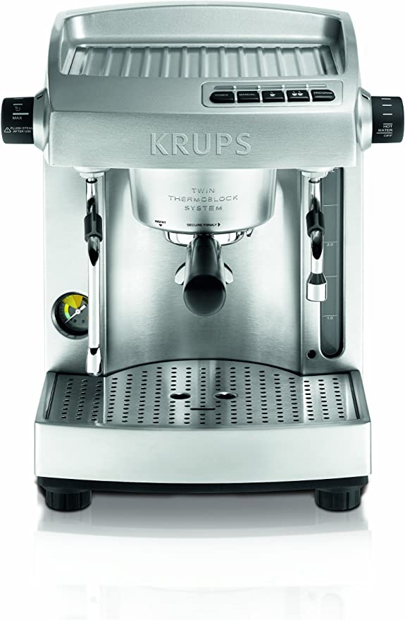 Amazon.com: Krups xp6180 Full Acero Inoxidable individual ...