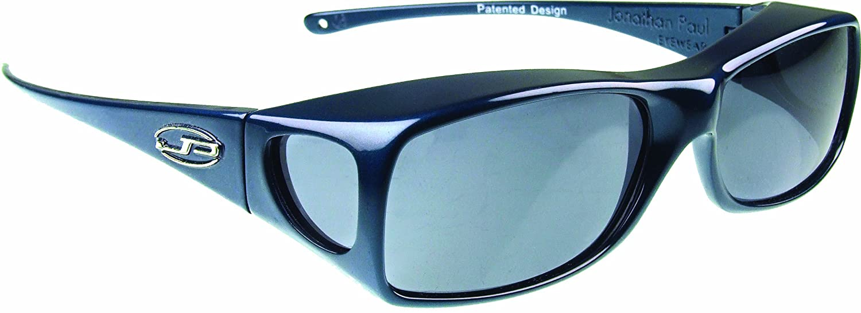 6997801ce957 Amazon.com: Fitovers Eyewear Aria Sunglasses, Midnite Oil, Polarvue Gray:  Sports & Outdoors