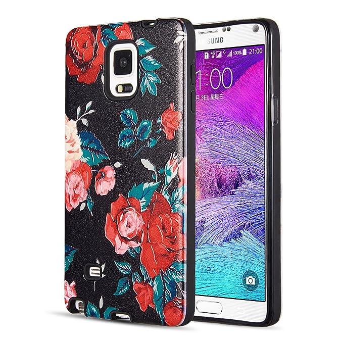 Carcasa para Samsung Galaxy Note 4, Ultrafina, Transparente ...