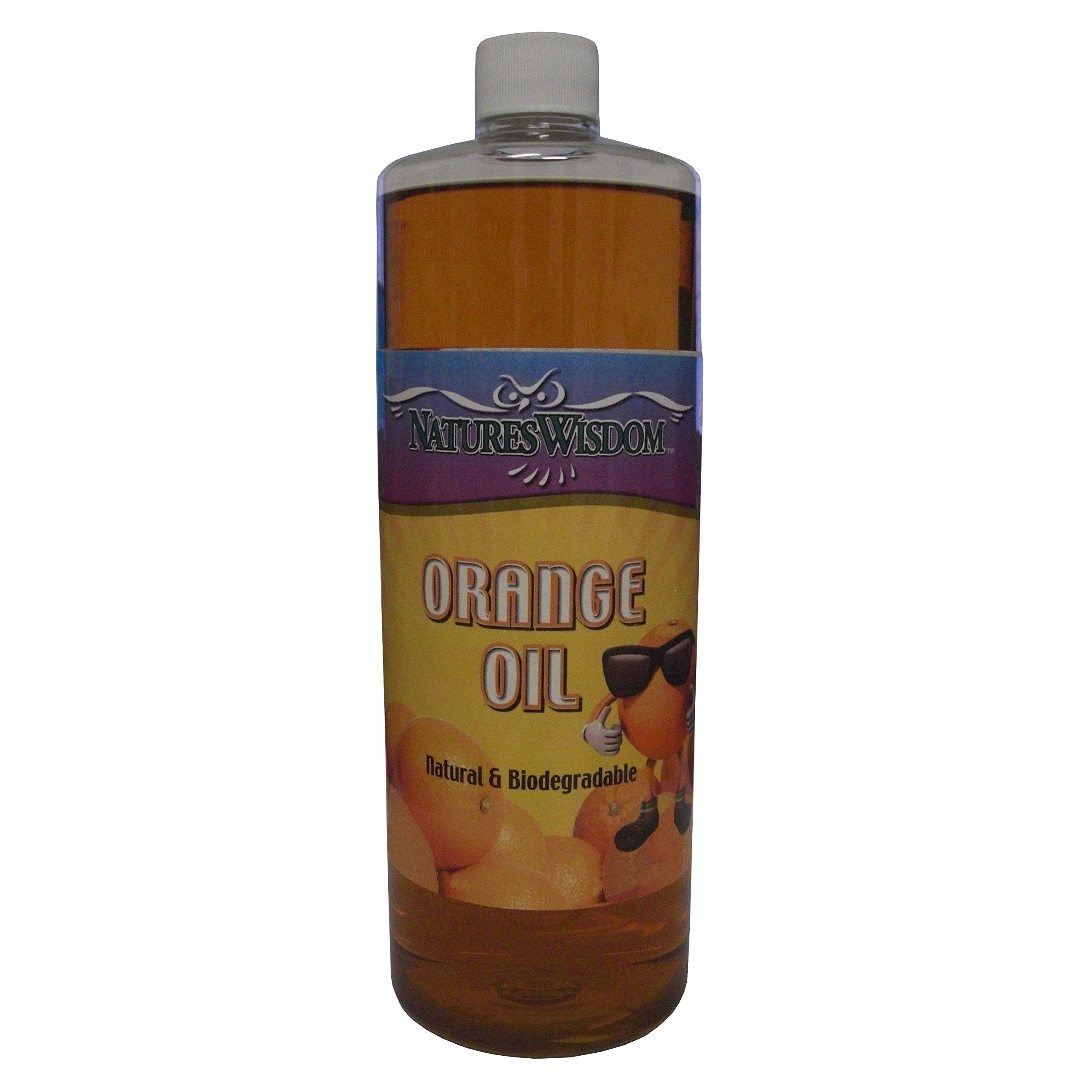 Natures Wisdom Cold Pressed Oil Concentrate by Orange, 16 Fl Oz