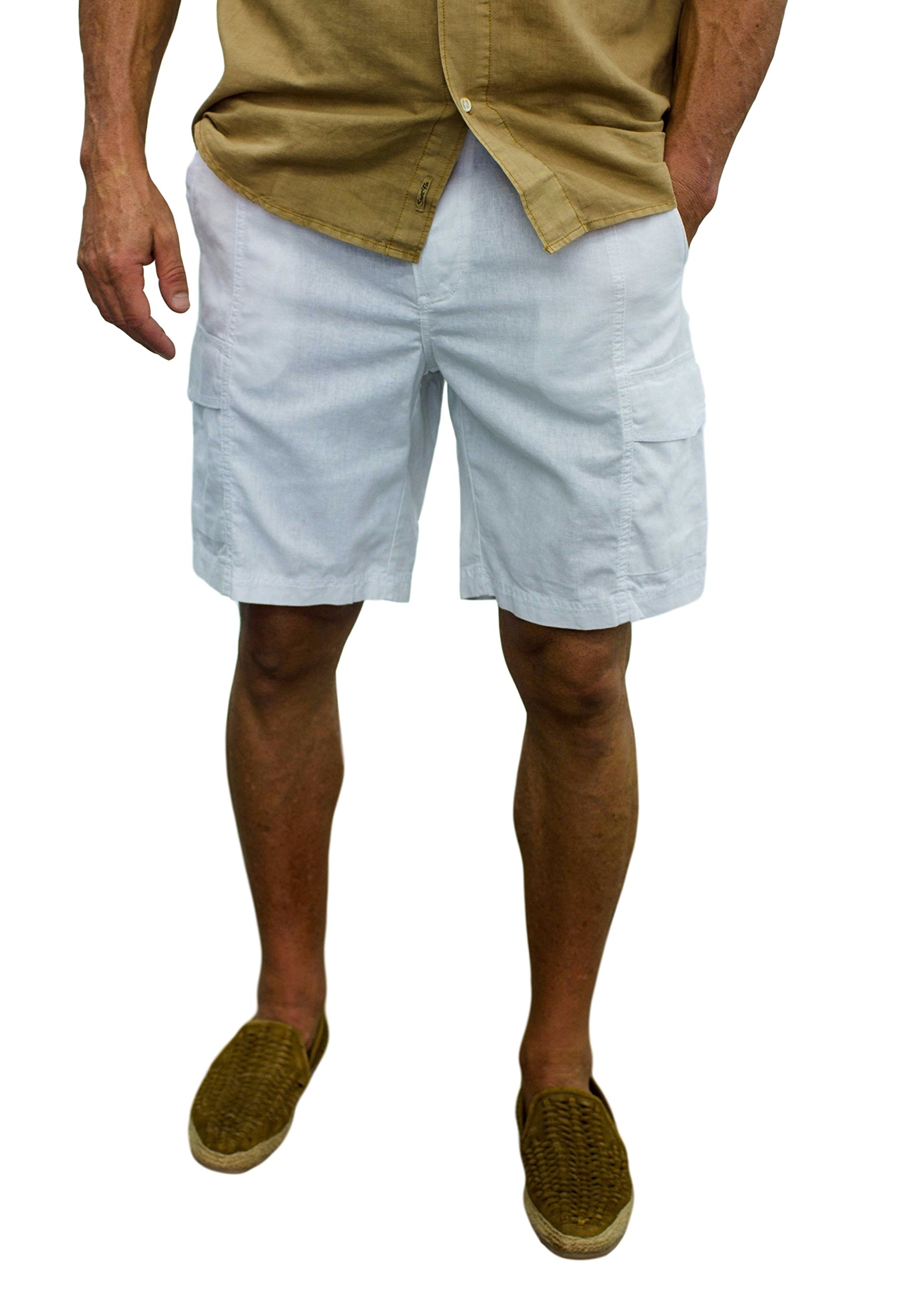 L8006 Shorts Size 36 White