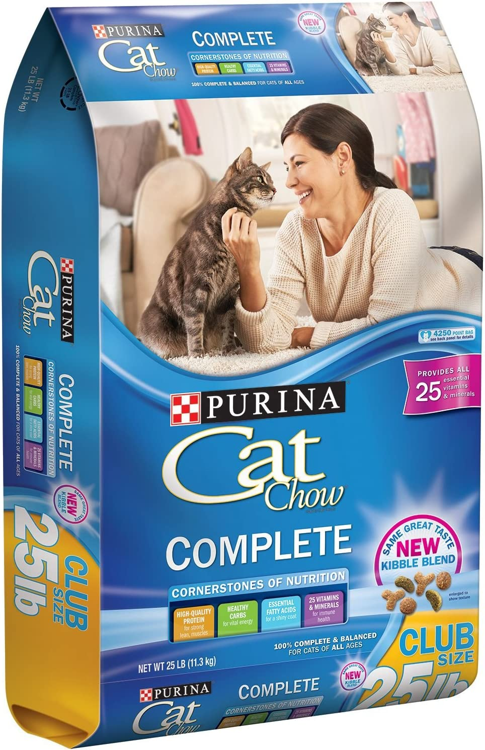 Purina 25 Lb Complete Cat Chow, Small