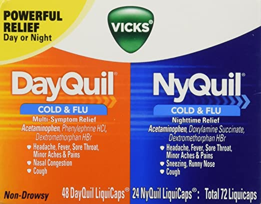Vicks Dayquil And Nyquil Cold Reviews