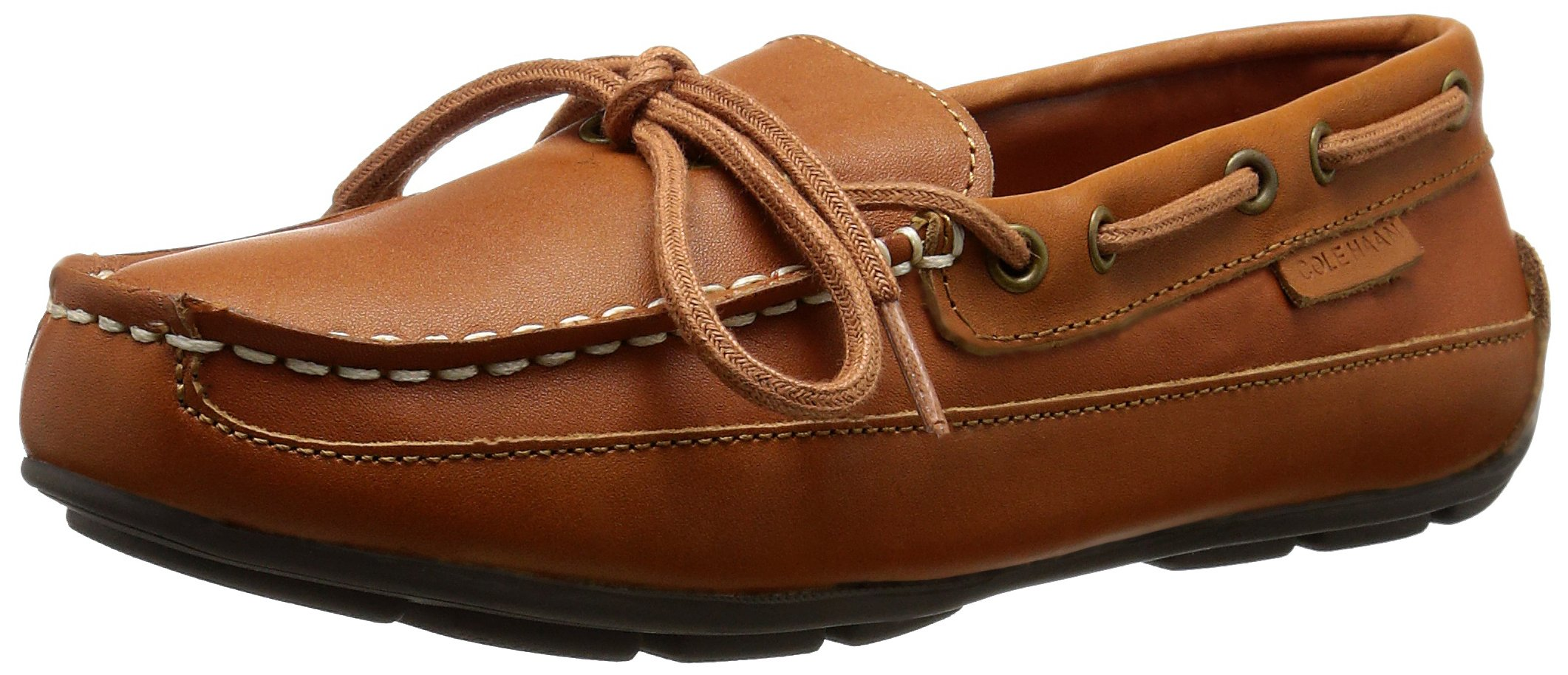 Cole Haan Grant Driver BUR LEA Moccasin (Toddler/Little Kid/Big Kid), British Tan, 7 M US Big Kid by Cole Haan