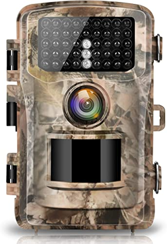 Campark Trail Camera 14MP 1080P 2.0 LCD Game Hunting Camera with 42pcs IR LEDs Infrared Night Vision up to 75ft 23m for Wildlife Scouting Digital Surveillance Waterproof IP66