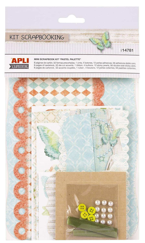 Apli Kids 14781 Pastel Palette Mini Scrap Booking Kit