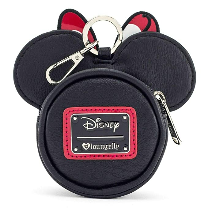 Loungefly Minnie Mouse Faux Leather Coin Purse, Black ...