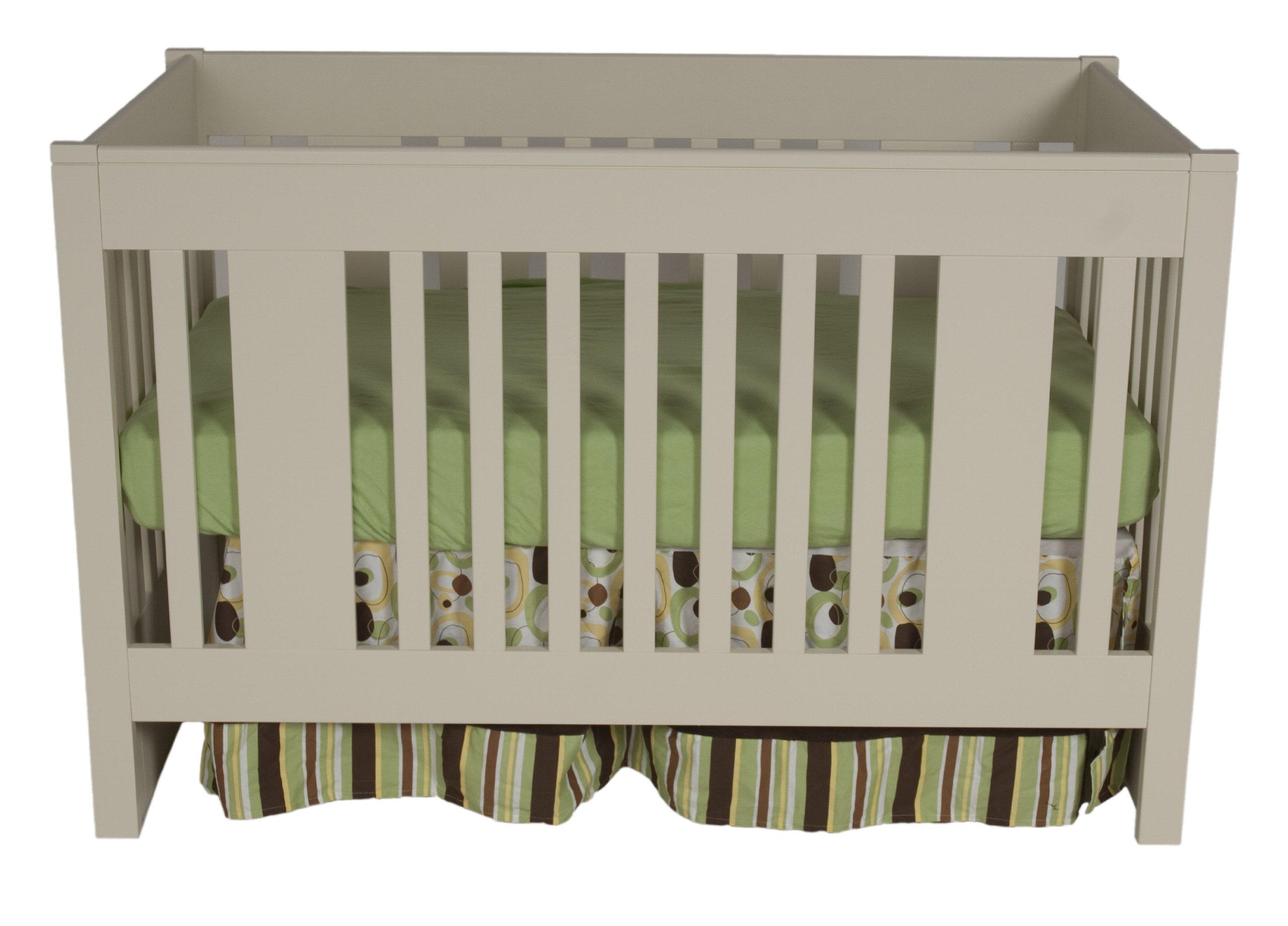Offspring York Convertible Crib, Linen