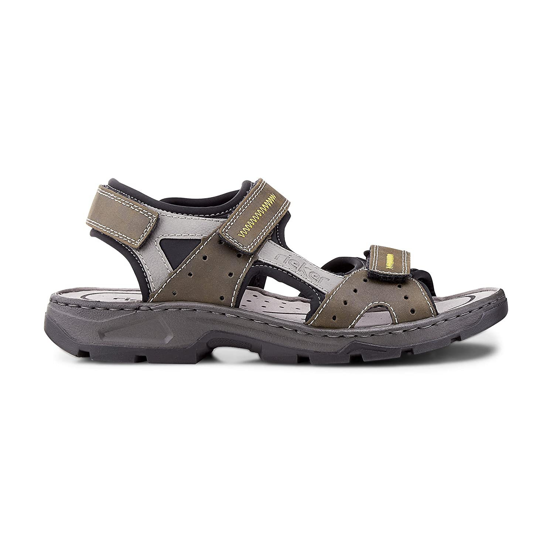 5151b9d9d24f0 Rieker Herren-Sandalette Grün 610238-7: Amazon.co.uk: Shoes & Bags