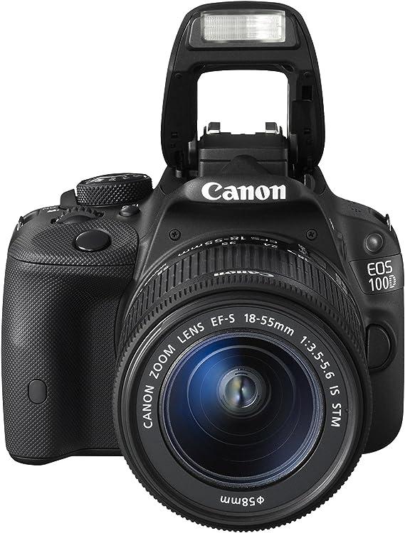Canon EOS 100 D - Cámara Digital de 18 MP (Pantalla táctil de 3 ...