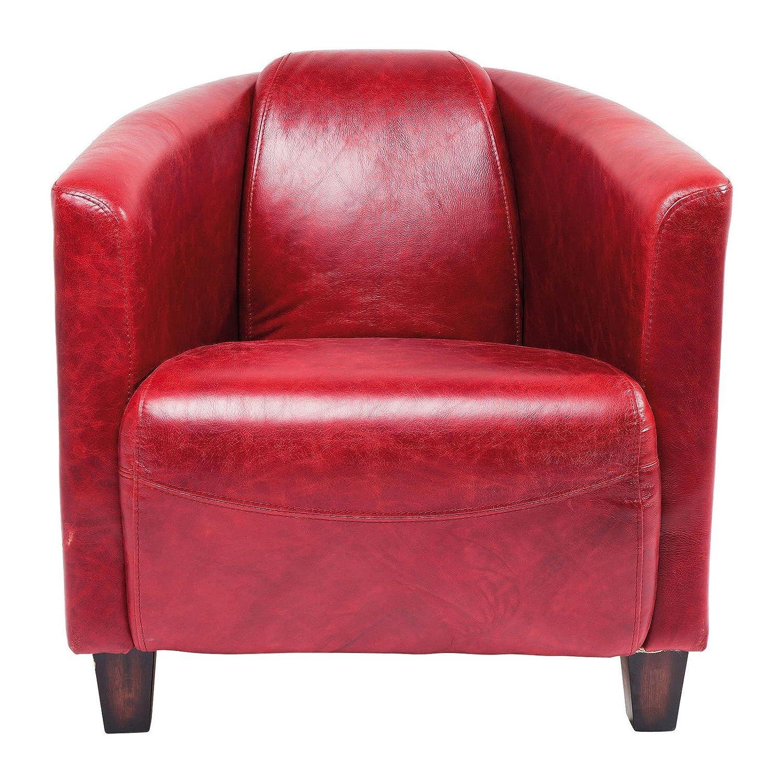 Kare 78813 Sessel Cigar Lounge, rot