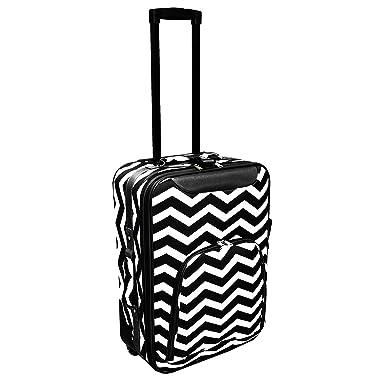 Amazon.com | World Traveler 20 Inch Rolling Carry-On Luggage ...