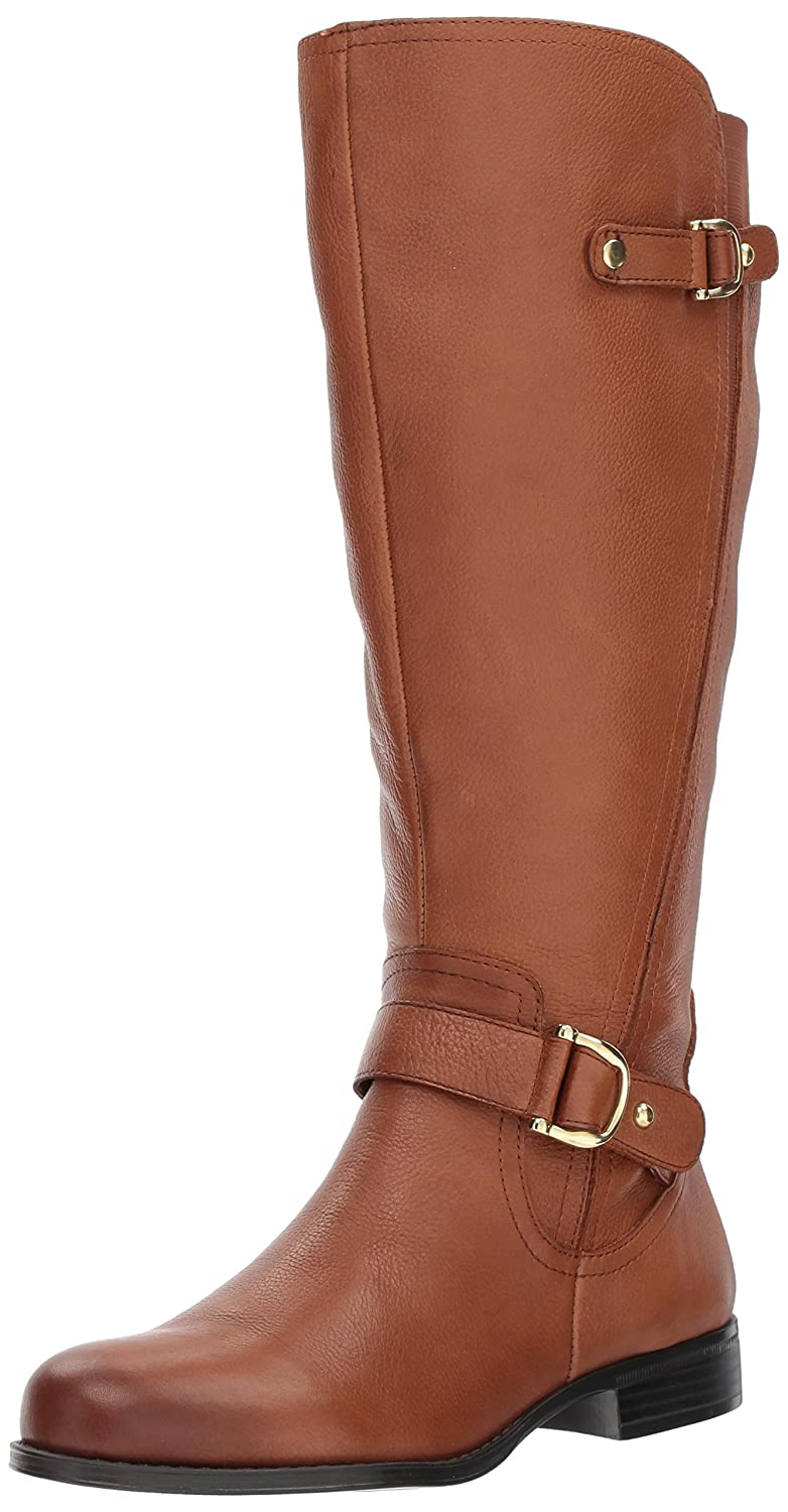 Naturalizer Women's Jenelle Wide Calf Riding Boot B06XC639XZ 11 B(M) US|Banana Bread