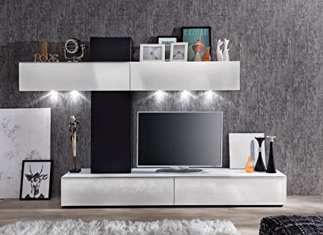 elbectrade Soggiorno moderno Free, composizione parete di design ...