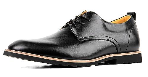 iLoveSIA Schnürhalbschuhe Herren Leder Klassiker Oxfords Schnürer Modische Anzug Schuhe