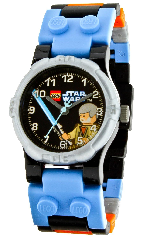 Amazon.com: LEGO Kids 9002939 Star Wars Obi Wan Plastic Watch with Link Bracelet: Lego: Watches