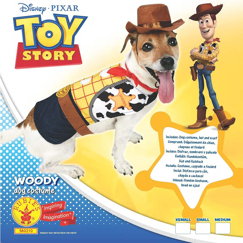 Rubies 3580210 – Woody Perros Disfraz: Amazon.es: Juguetes y juegos