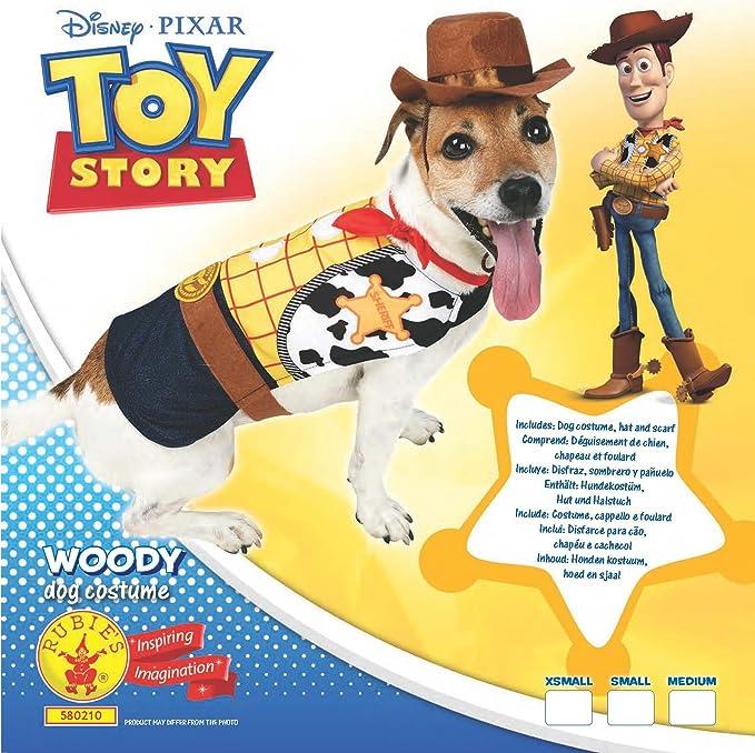 Rubies 3580210 – Woody Perros Disfraz, Amarillo/Marrón: Amazon.es ...