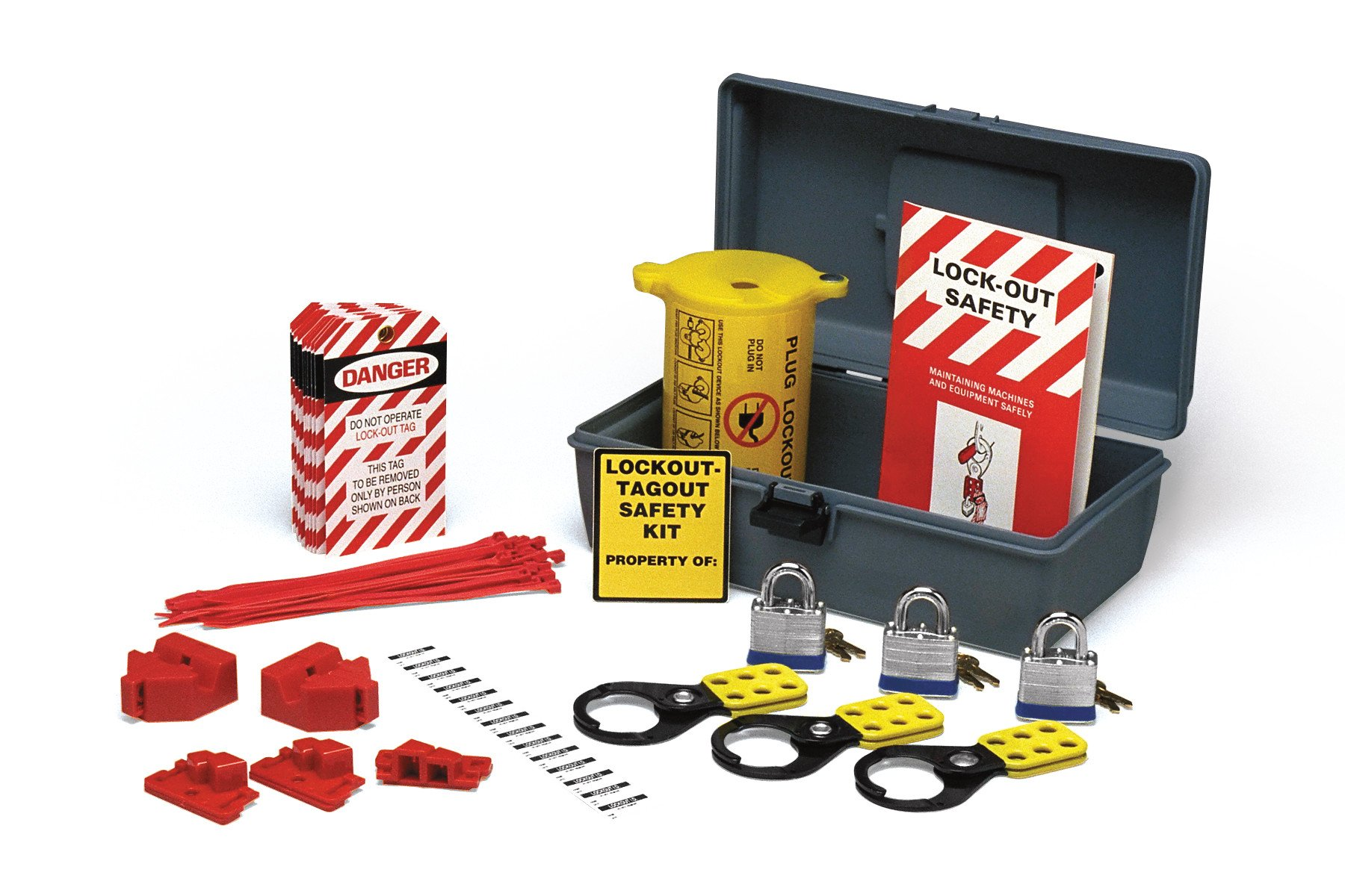 Brady Economy Electrical Lockout Toolbox Kit - 45618 by Brady