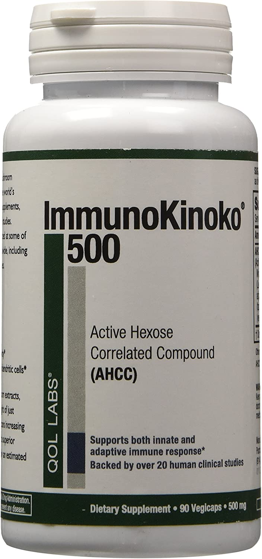 Labs ImmunoKinoko AHCC 500 mg 90 VegiCaps