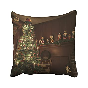 Musesh Primitive Colonial Country Christmas Holiday Cushions Case Throw  Pillow Cover for Sofa Home Decorative Pillowslip - Amazon.com: Musesh Primitive Colonial Country Christmas Holiday