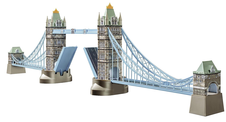 Ravensburger 12559 Tower Bridge London 3D-PuzzleBauwerke, 216 Teile Ravensburger Spielverlag Architektur Dörfer & Dörfer & Städte