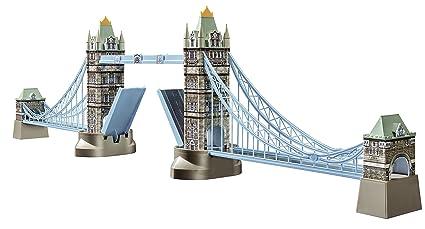 d72bf0c2e Image Unavailable. Image not available for. Color: Ravensburger Tower  Bridge 216 Piece 3D Jigsaw ...