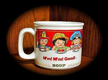 Amazon.com | Vintage 1993 Campbell\'s Soup Mug (Campbell\'s Kids) (14 ...