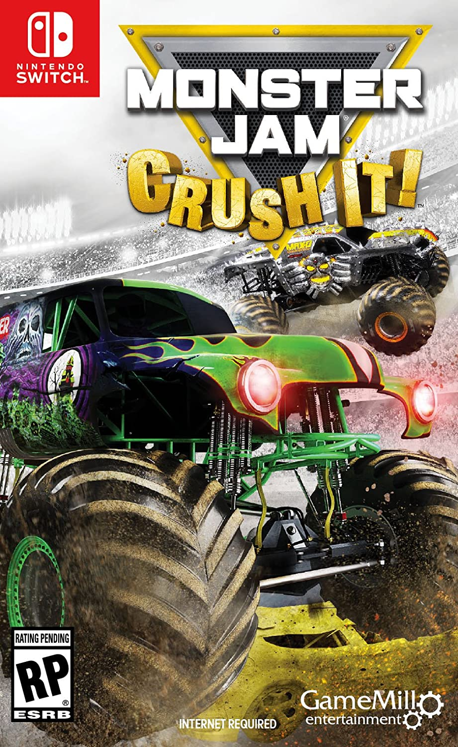 Amazon Com Monster Jam Crush It Nintendo Switch Standard Edition Game Mill Entertainment Video Games