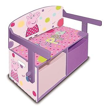 Arditex U2013 Desk And Office Furniture U2013 Wooden Chest Of Toys U2013 3 In 1 078378