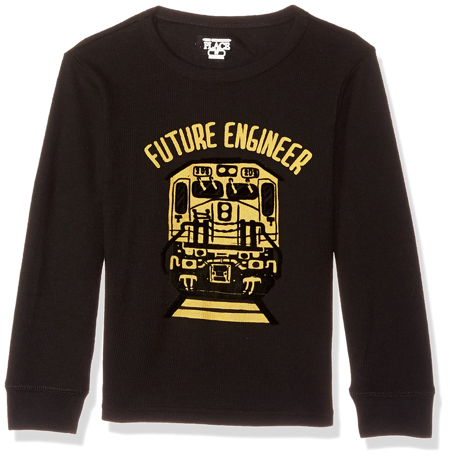 The Childrens Place Baby Boys Graphic Long Sleeve T-Shirt