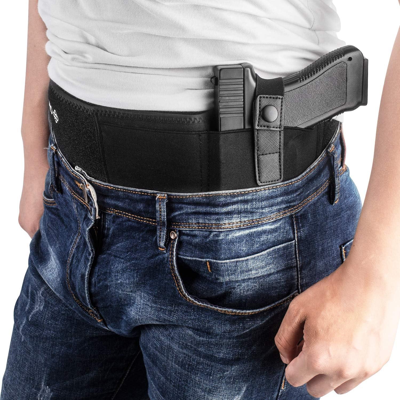 Concealment Belt Ambidextrous Holster Inside Waistband For Compact Pistol BL