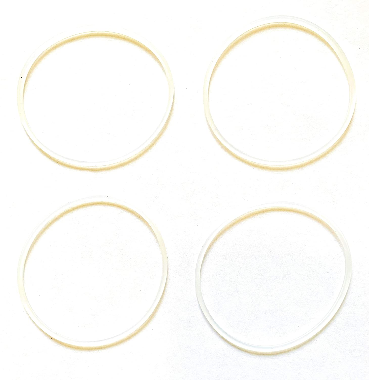 Fab International Replacement Gasket Compatible with Cooks Personnal Sport Blender 4 Pack (AFTER MARKET PART)