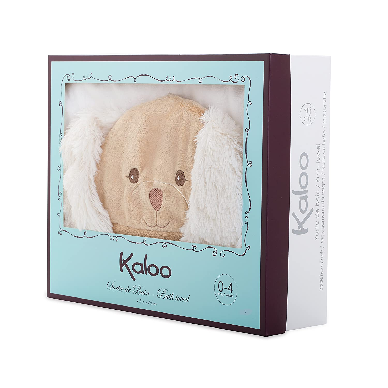 Amazon.com: Kaloo Les Amis Baby Bath Towel Puppy-Caramel Plush: Toys & Games