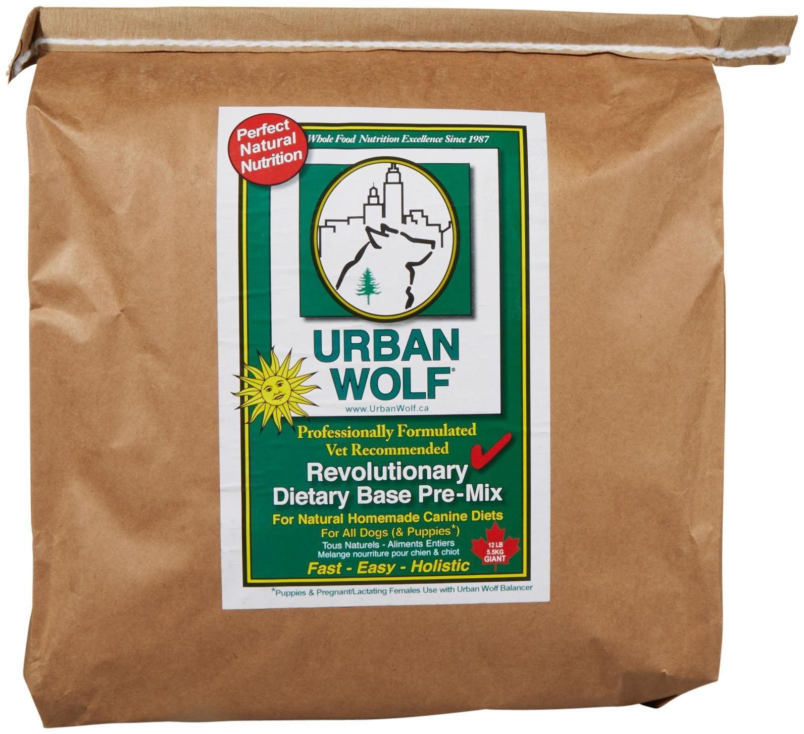 Urban Wolf Dog Food Mix - Dietary Base Mix - 12 Lb