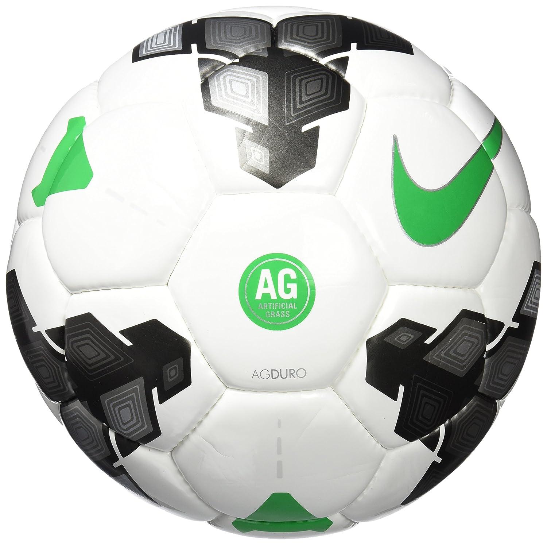 Nike Ball AG Duro Balón, Unisex Adulto, Blanco/Gris/Verde (White ...