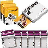 KODAK Mini 3 Retro Portable Photo Printer, Compatible with iOS, Android & Bluetooth Device, Real Photo: (3x3), 4Pass…