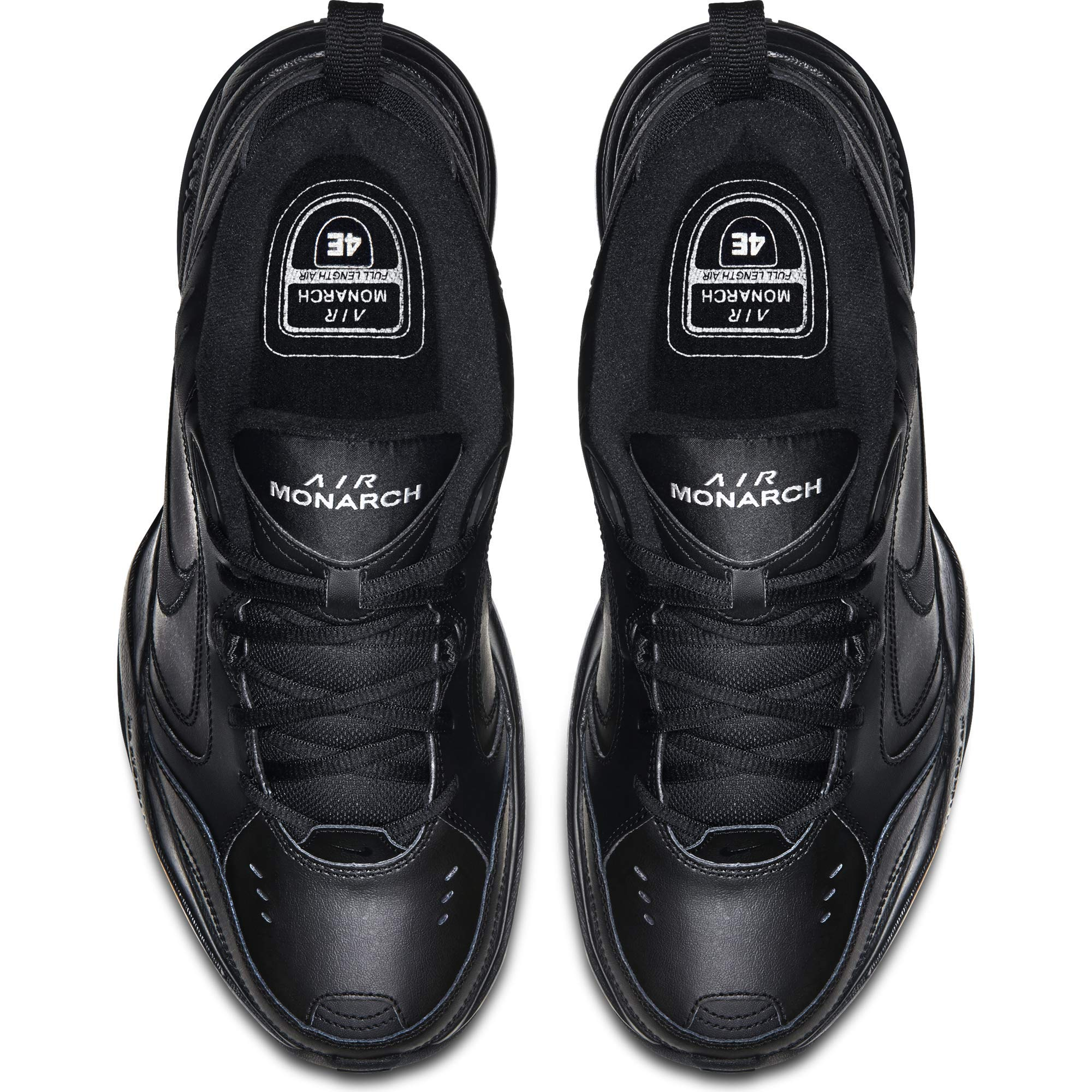 NIKE AIR MONARCH IV (MENS) - 6 Black/Black by Nike (Image #9)