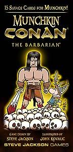 Steve Jackson Games Munchkin Conan The Barbarian