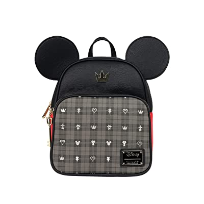 Loungefly Mickey Mouse Kingdom Hearts Mini Backpack Standard | Casual Daypacks