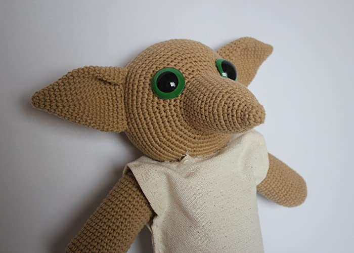 Amazon Dobby Handmade Crochet Dobby Plushie Doll Amigurumi