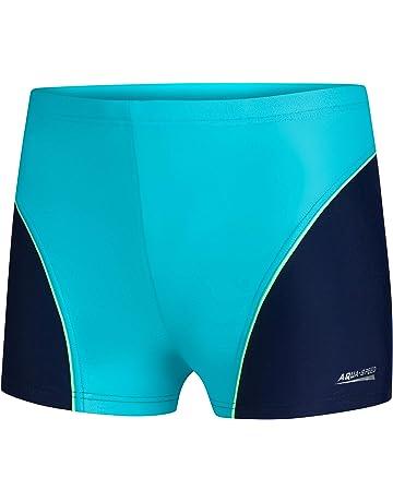 Speedo Sports Logo Kinder Jammer Badehose Badeshort Schwimmhose Schwimmshort