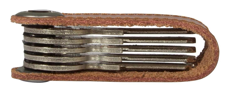 In hochwertiger Geschenkbox Schl/üsseletui Kunst- Schl/üsselbund Key Organizer Leather VIIRKUJA Smart Key Organizer aus Leder Bis zu 7 Schl/üssel
