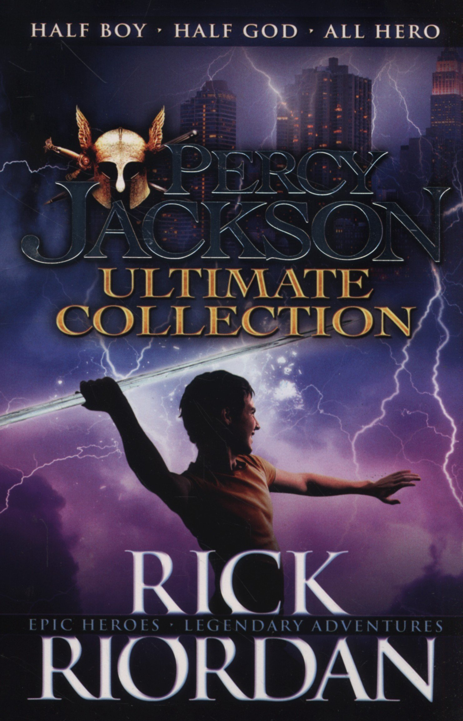 Buy Percy jackson  Complete Series Book Online at Low Prices in ... 5c934b01e5705