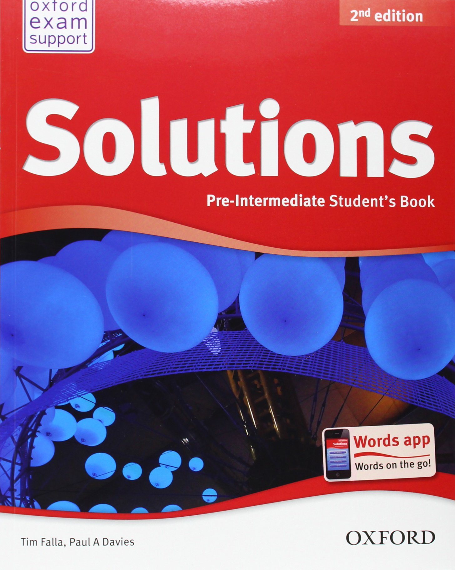 Solutions pre-intermediate student book 2nd class audio cd1.