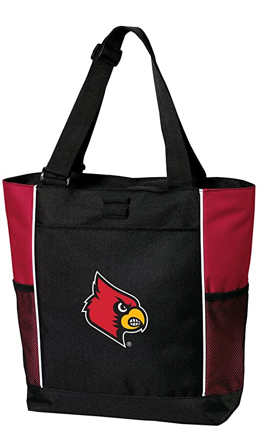 0e22f625 Amazon.com : Broad Bay University of Louisville Tote Bags Red ...