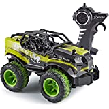 Think Gizmos Speed Master Off Road Toy Remote Control Car for Kids (Green Speed Master)