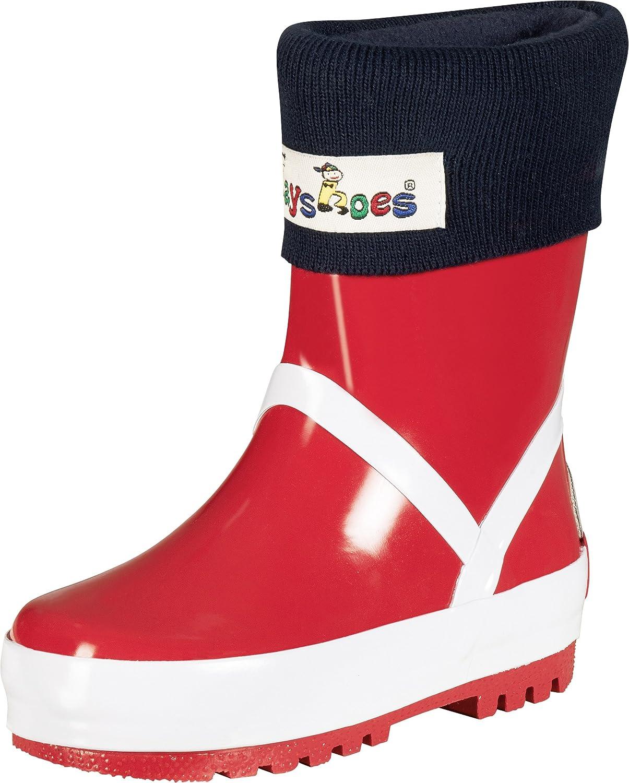 Playshoes Fleece-Stiefel-socke Calentadores para Ni/ñas